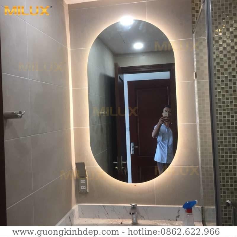 Gương Đèn Led Phòng Tắm Hiện Đại Milux ML612-03