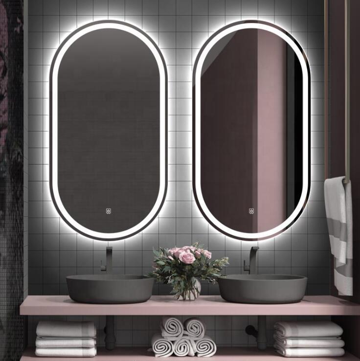Bộ gương phòng tắm đôi độc đáo, tiện ích