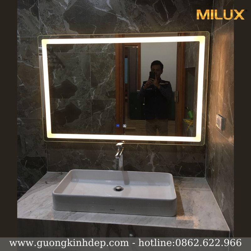 Gương Phòng Tắm Chữ Nhật Ngang Kích Thước 70x90cm